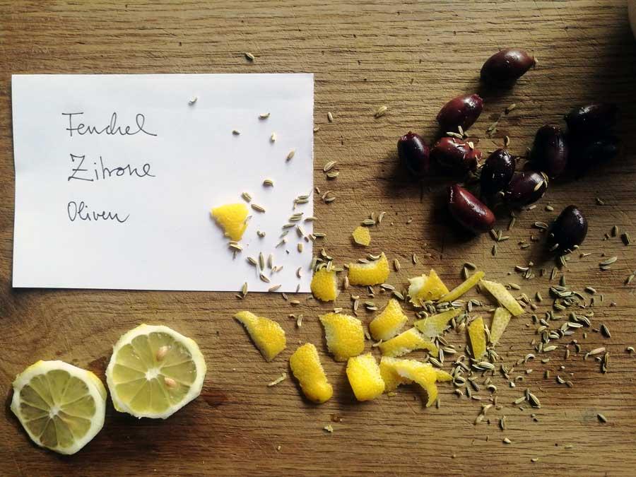 Oliven marinieren Rezept