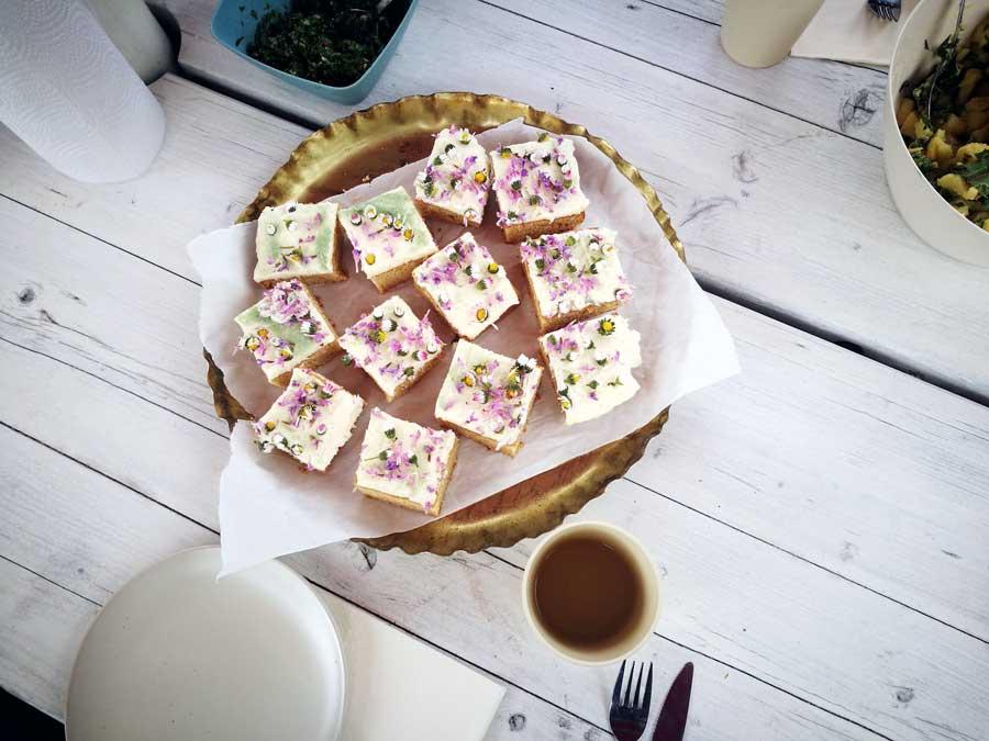 Waldmeister-Kuchen