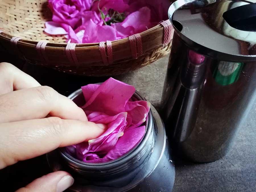 Berühmt Duftendes Rosenwasser einfach selber machen ~ Kräuterwerkstatt & mehr RA14