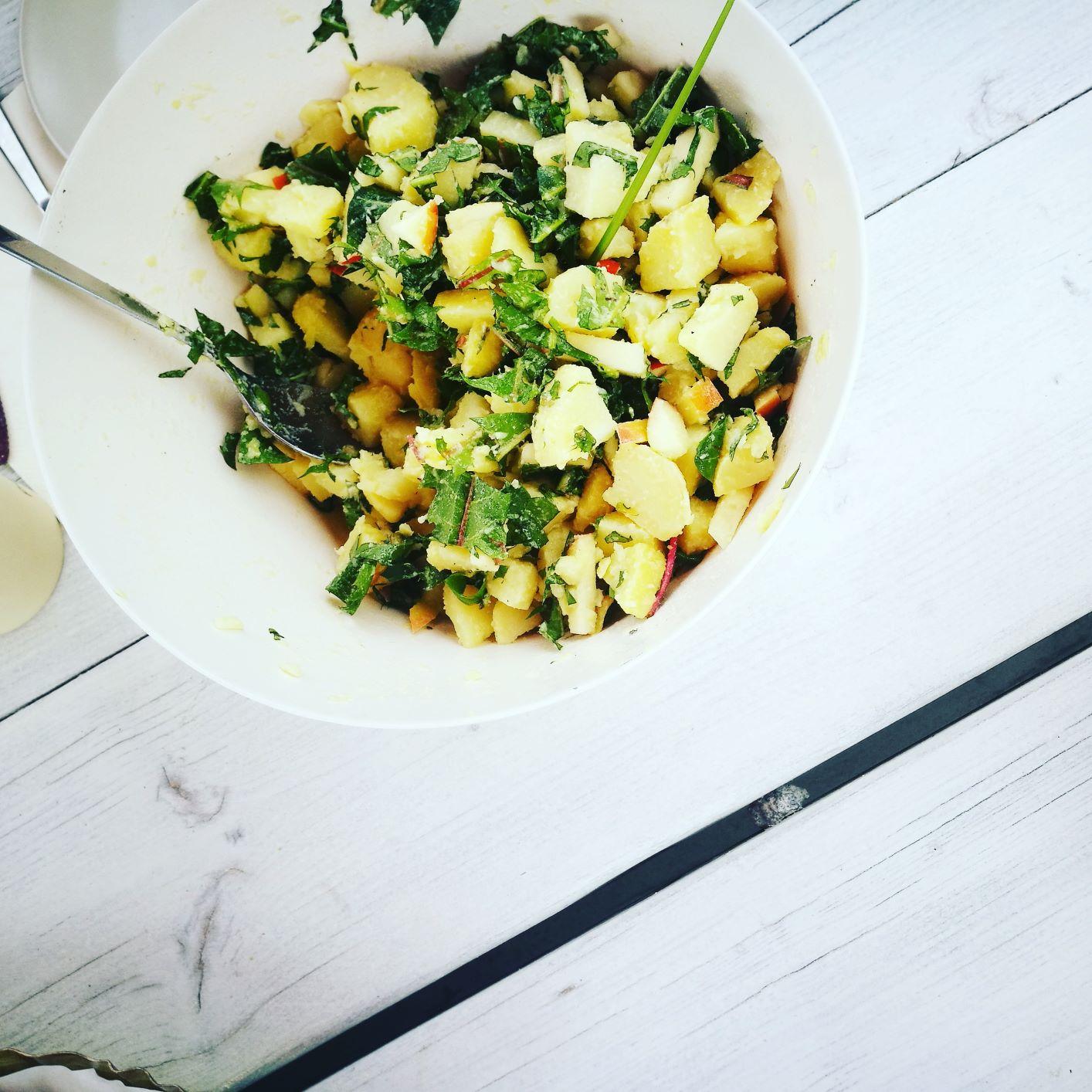 Salat mit Meerrettich