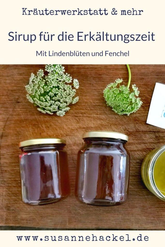 Lindenblüten-Fenchel-Sirup